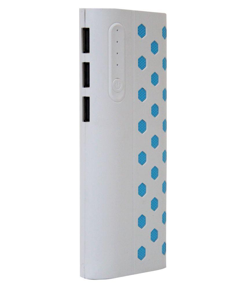 OMNITEX 15000  mAh Li Ion Power Bank White