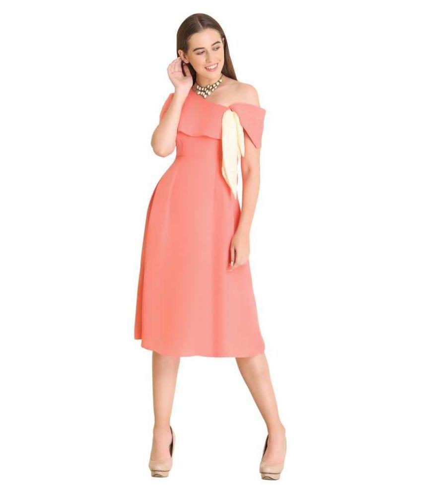Raas Prêt Crepe Pink Off Shoulder