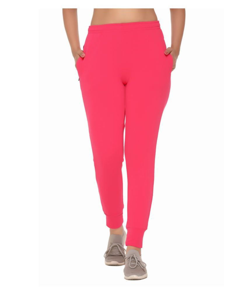 Raves Lycra Jeggings - Pink