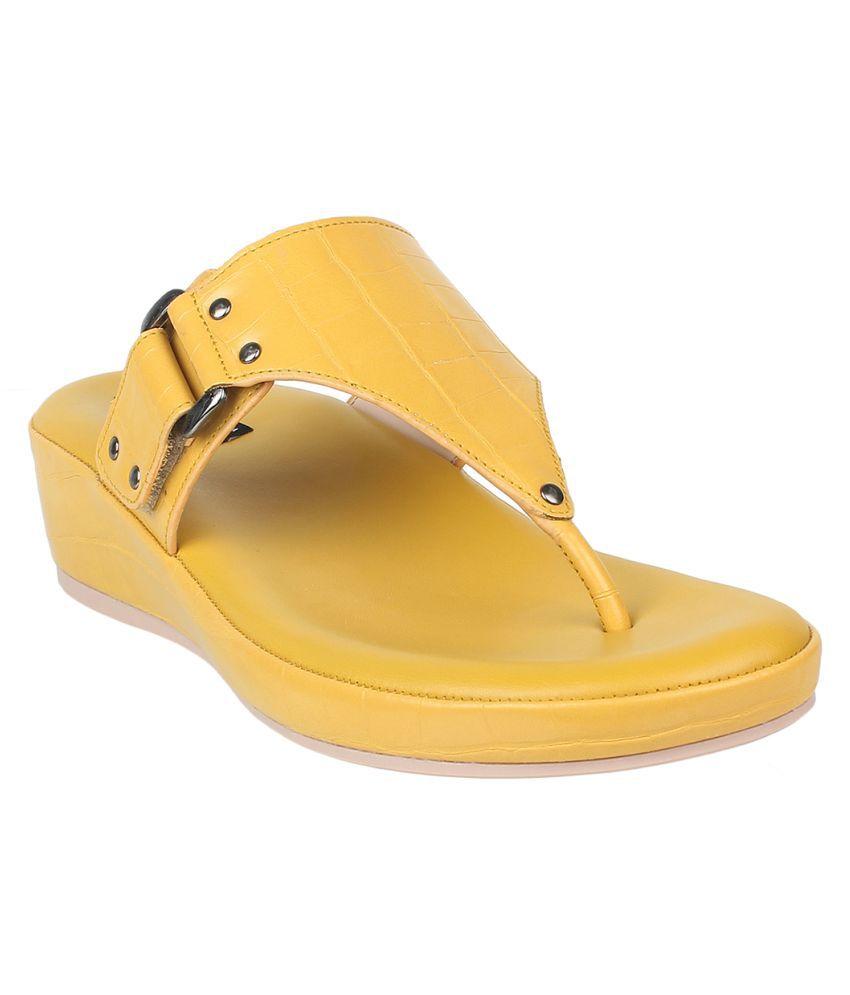 sherrif shoes Yellow Platforms Heels