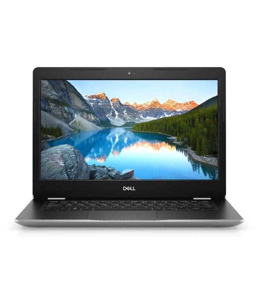 DELL Inspiron 3493 14 inch Laptop  10th Gen Core i5 1035G1/8 GB/512 GB SSD/Win 10 + MS Office/Intel HD Graphics/Silver  E C560514WIN9