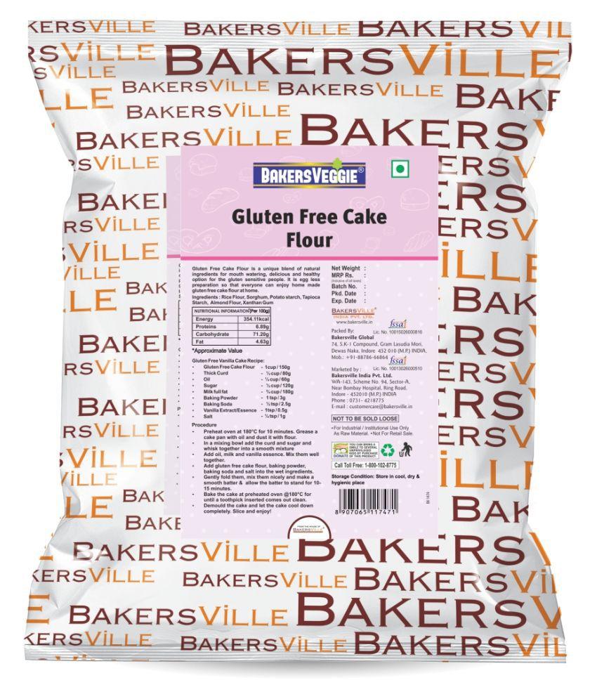 Bakersveggie Gluten Free - Cake Flour, 1 kg