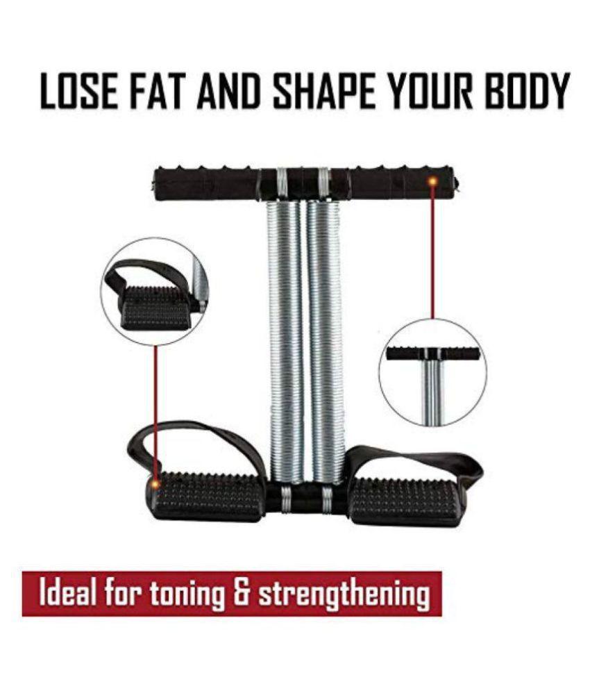 PP Traders Tummy Trimmer Double Spring Tummy Twister / Ab Exerciser / Waist Trimmer / Body Toner / Fat Buster / Multipurpose FItness Equipment for Men