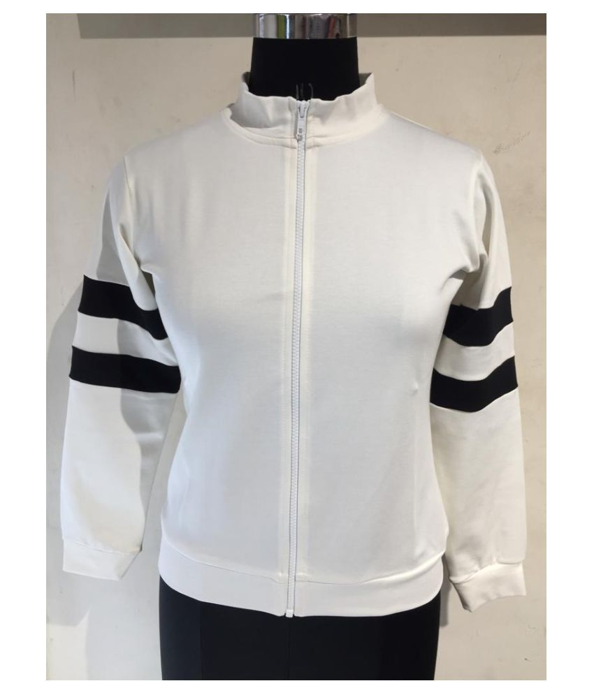 parory Polyester White Jackets