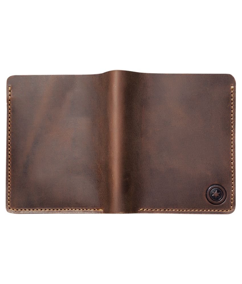 POLLSTAR Leather Brown Casual Regular Wallet