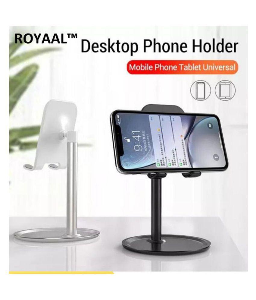 ROYAAL™ Portable Universal Desktop Support K1 Desktop Support Tablet Mobile Phone Adjustable Holder Stand