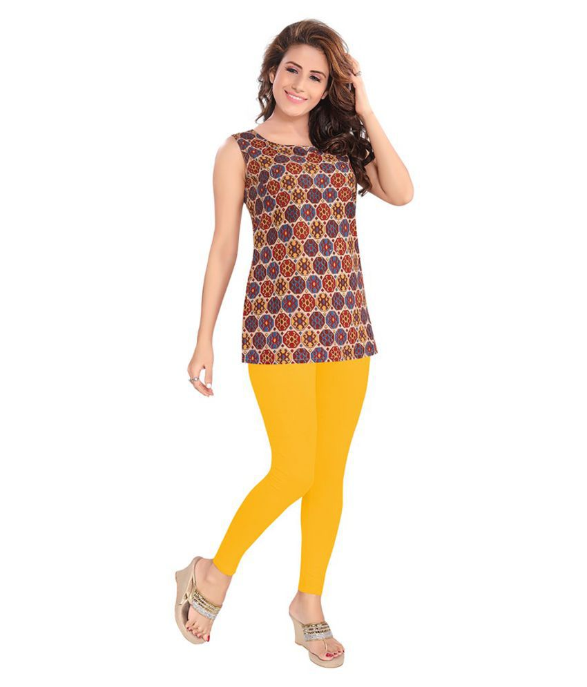Salwar Studio Cotton Lycra Single Leggings