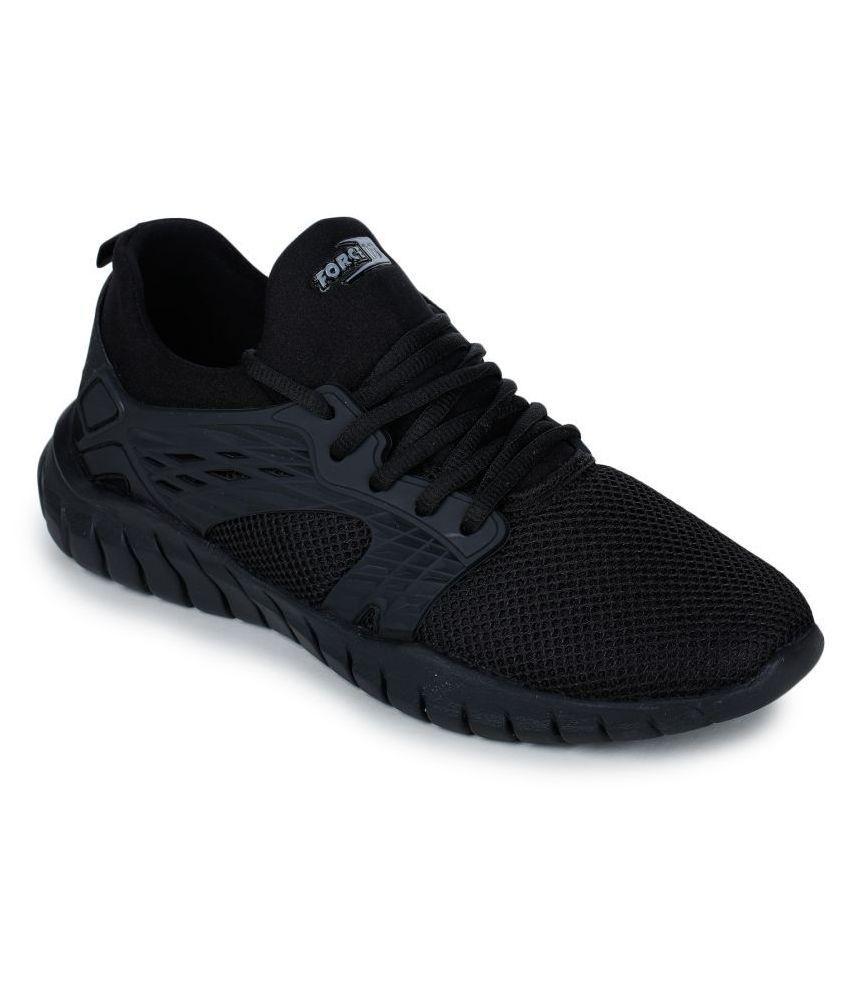 Liberty Black Running Shoes