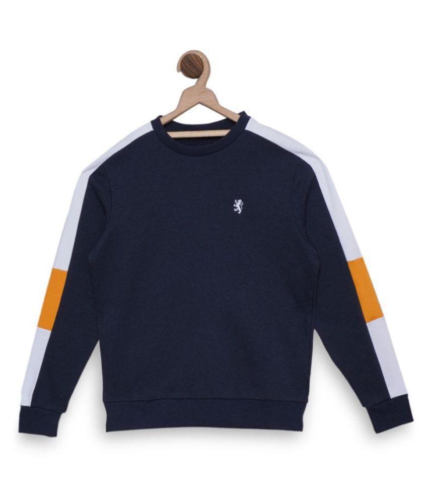 Red Tape Boy,S Midnight Blue Boy'S Sweatshirt