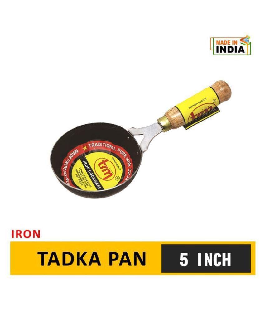 TRM TRMIR020 Non-Stick Iron Tadka Pan 27 cm mL