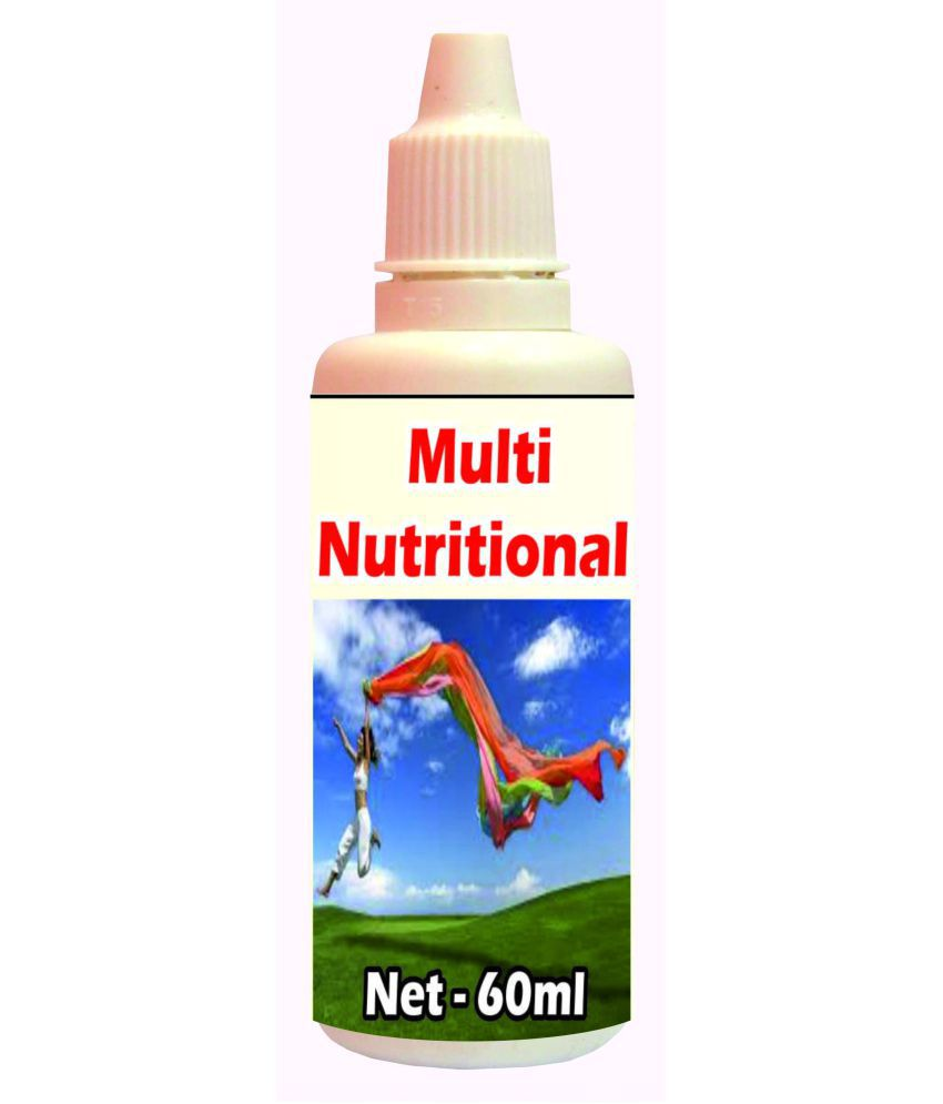 Tonga Herbs Multi Nutritional Drops - 50 ML(Get The Same 50ml Drops Free) 60 ml Minerals Syrup
