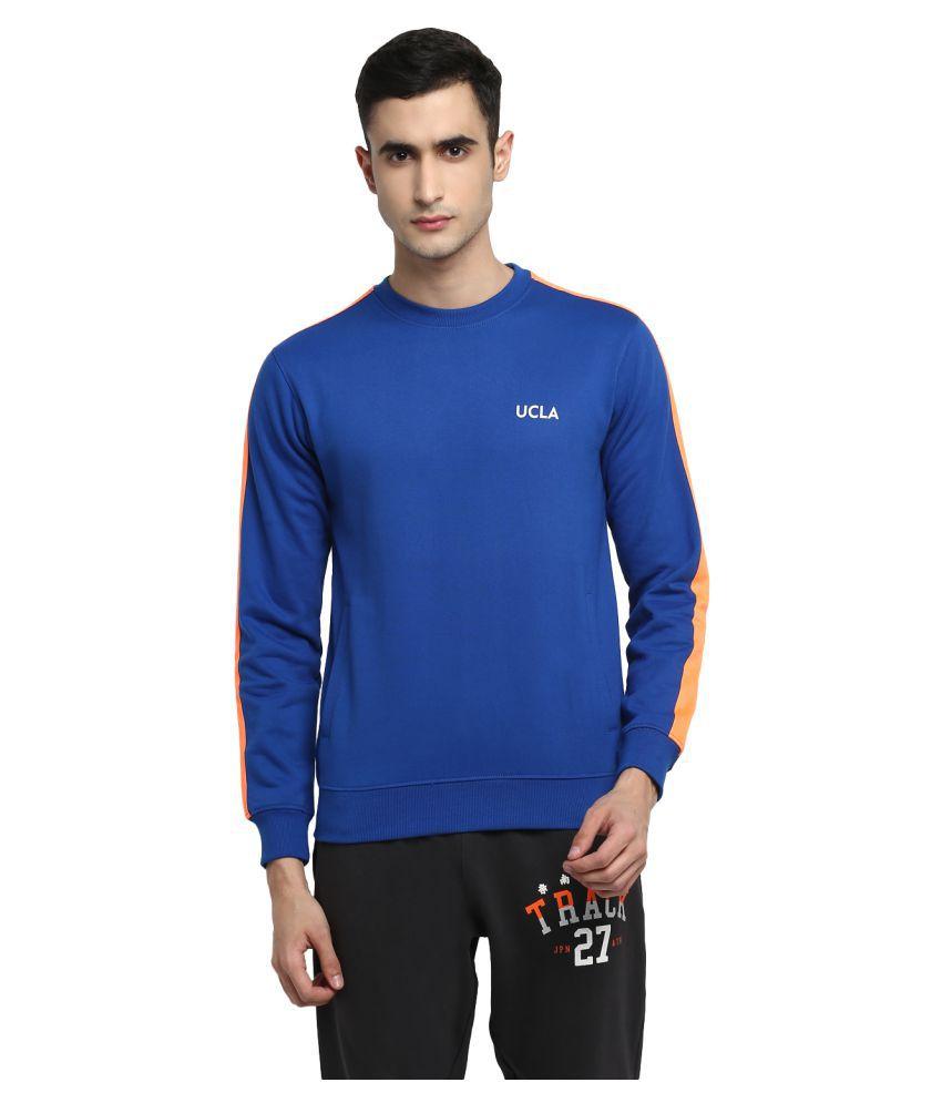 UCLA Blue Polyester Sweatshirt