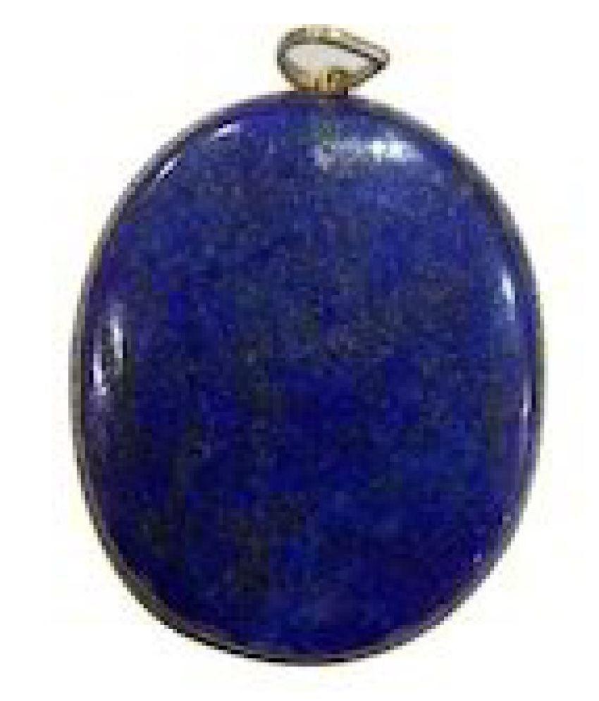 10.25 Original lapis lazuli  Unheated & Natural lapis lazuli / silver Pendantby Kundli Gems