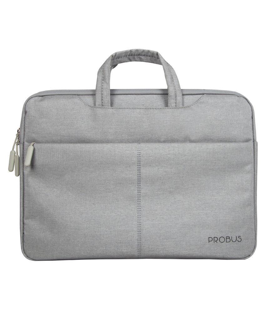 Probus Grey Laptop Sleeves