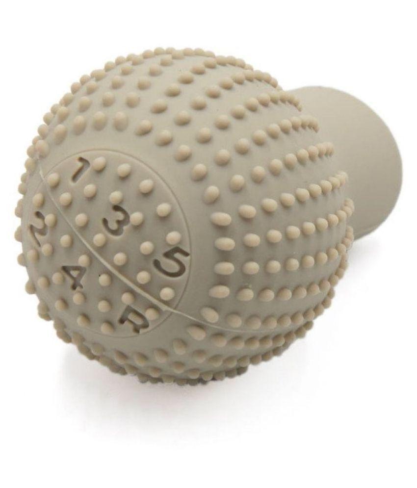 delhideals Gear Knob Silicone for 5 Speed Gear Cover-Beige