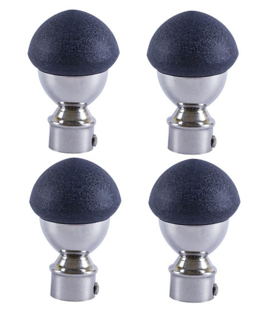 KTC Set of 4 Stainless Steel Single Rod Bracket