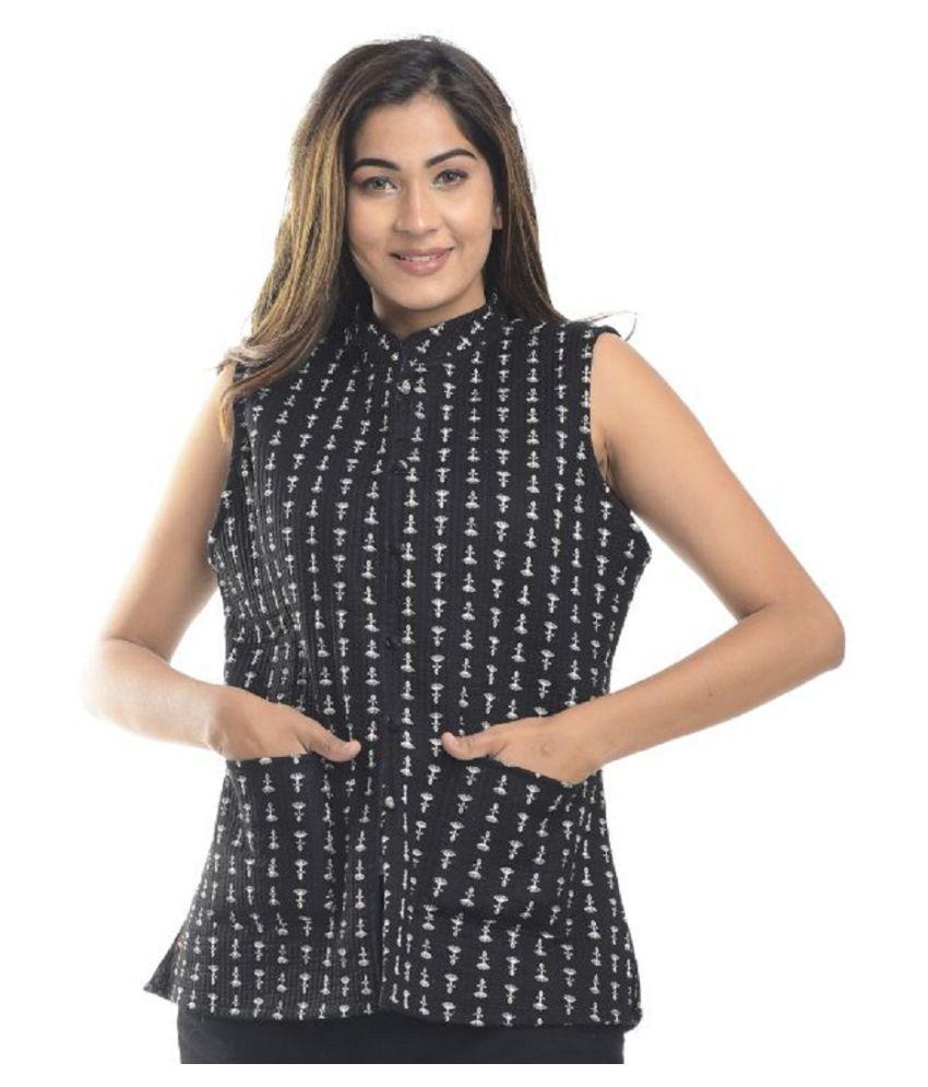 Raj Cotton Multi Color Ethnic Jacket