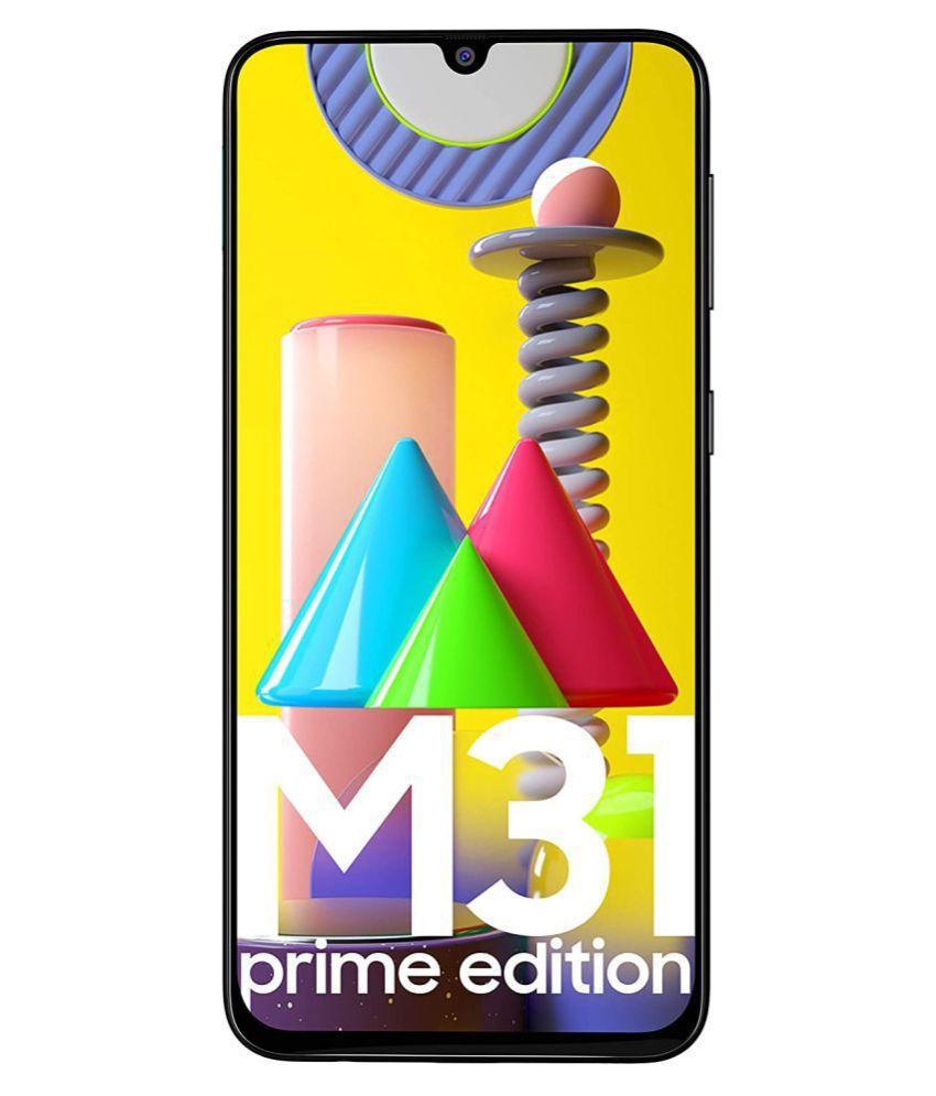 Samsung Galaxy M31 Prime Edition ( 128GB , 6 GB ) Black