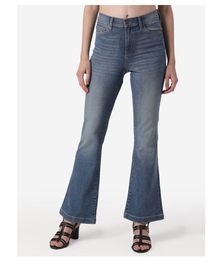 Mode By Red Tape Cotton Jeans - Blue
