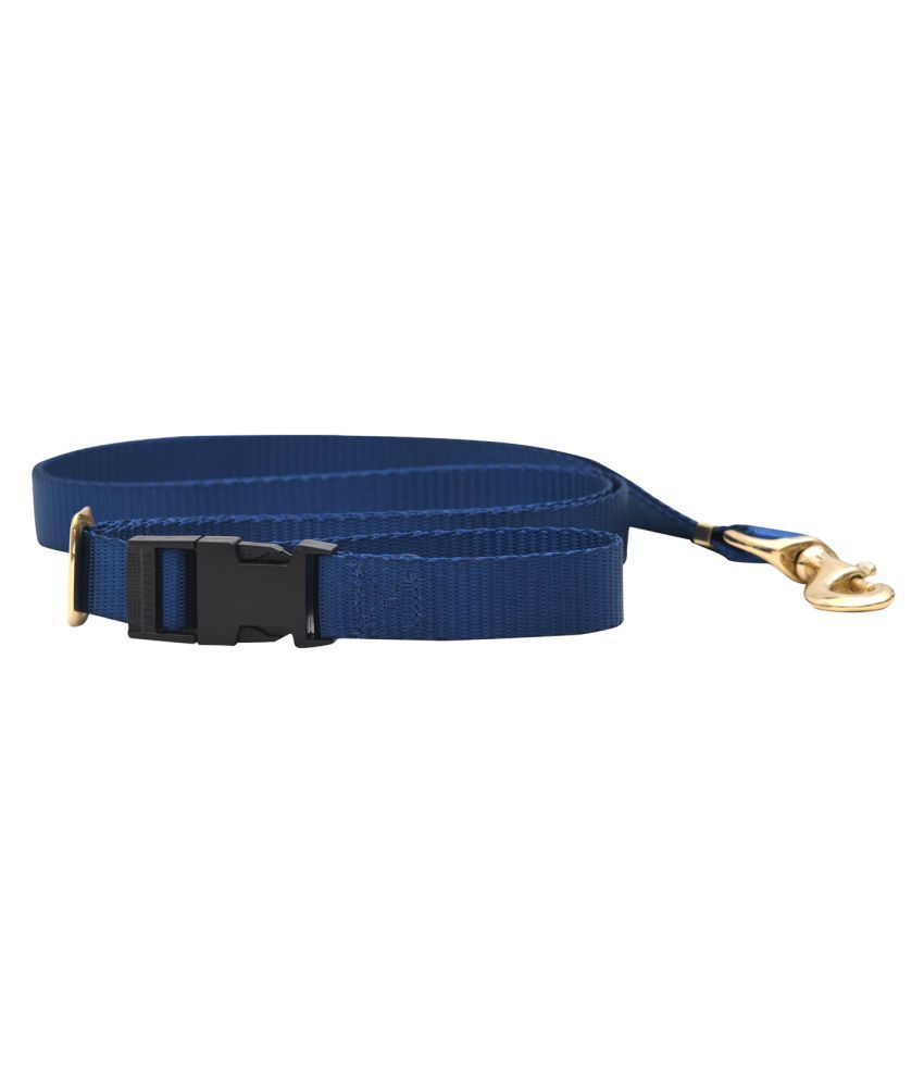 FORFURS Dog Extra Long Adjustable Multifunctional Leash (Navy Blue)