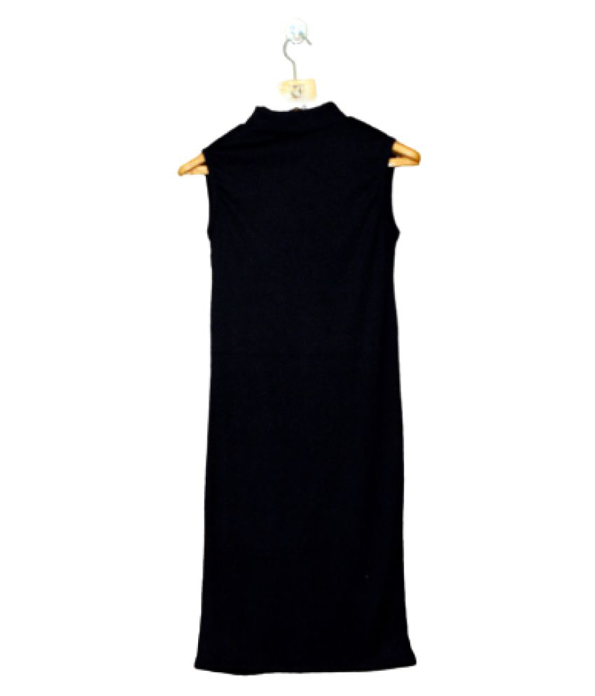 Avenew Fashions Hoisery Black A- line Dress