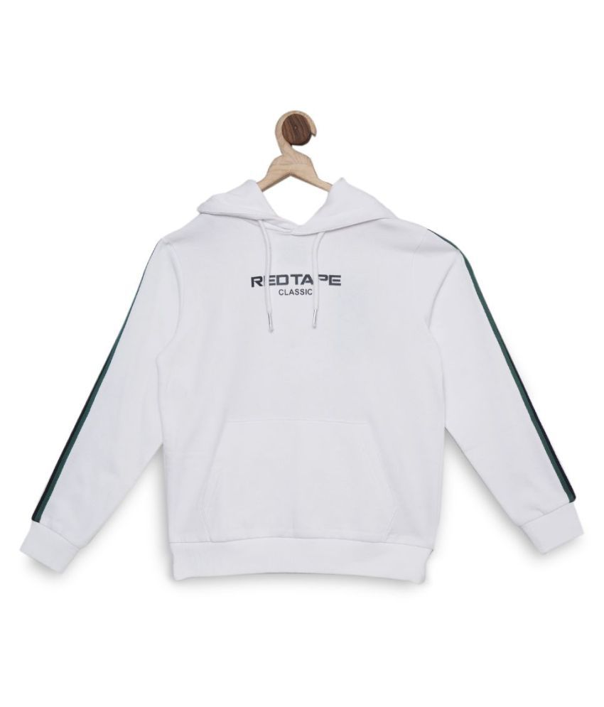 Red Tape Boy,S Off White Hoodie