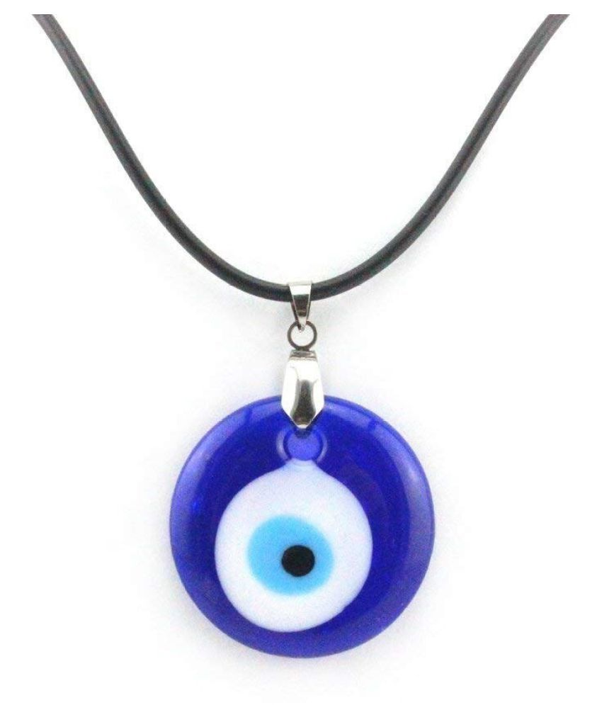 Blue Precious without chain Evil Eye Pendant for Women by Ratan Bazaar