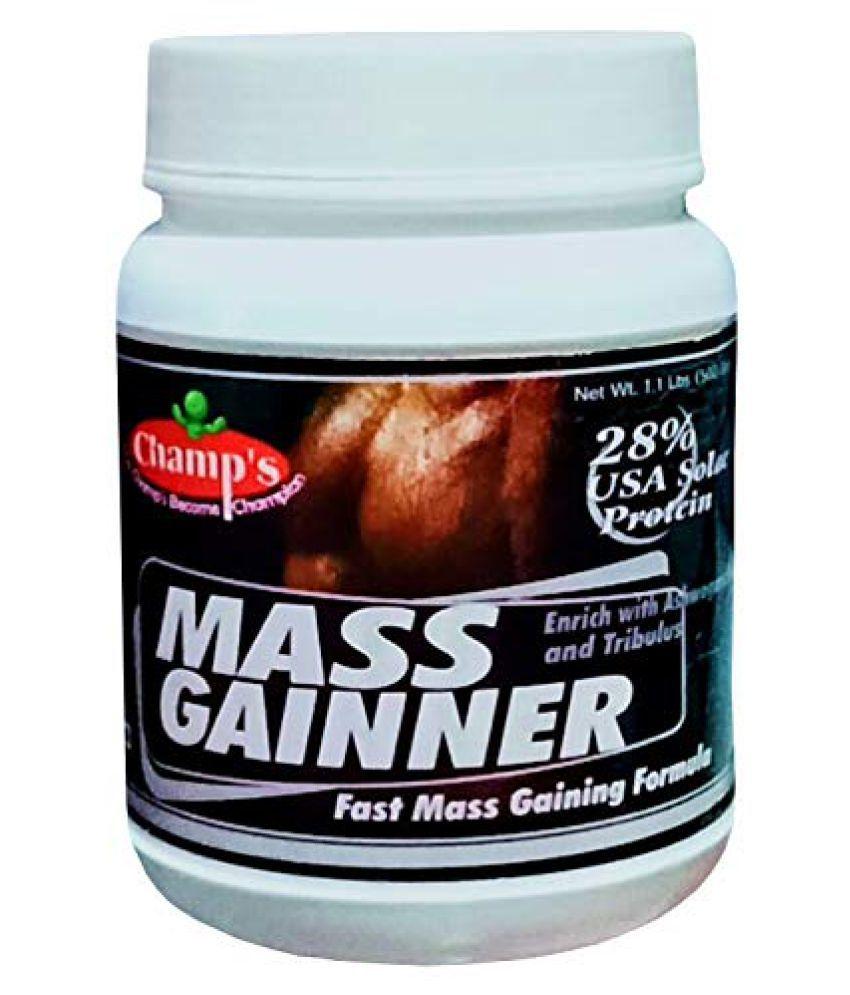 Champs MASS GAINNER 500 gm Weight Gainer Powder