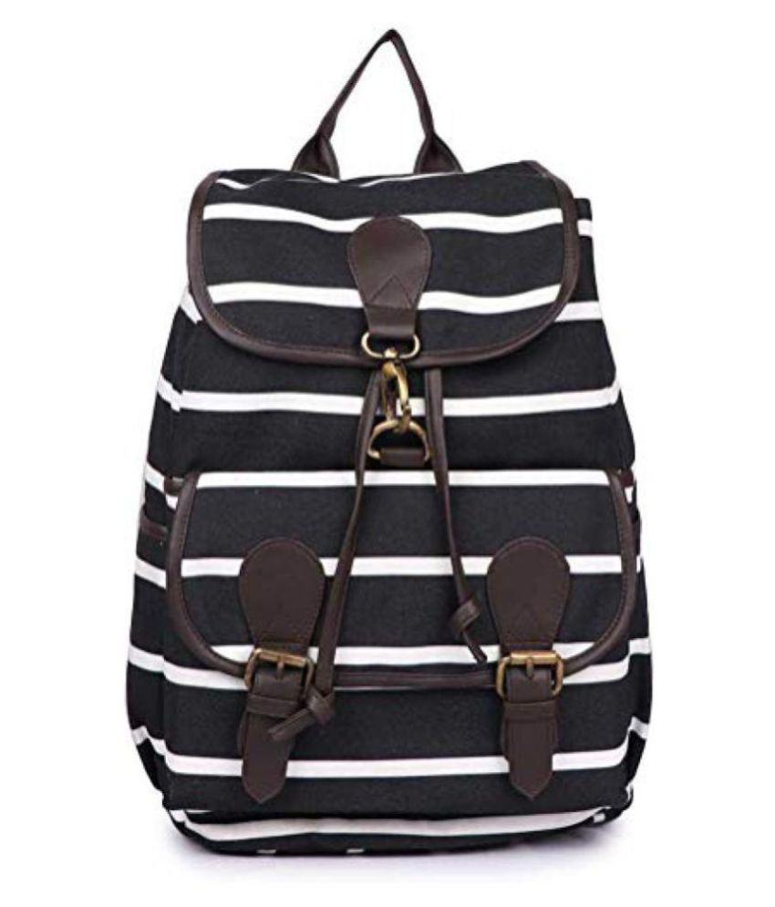 Lychee Bags Black School Bag for Girls