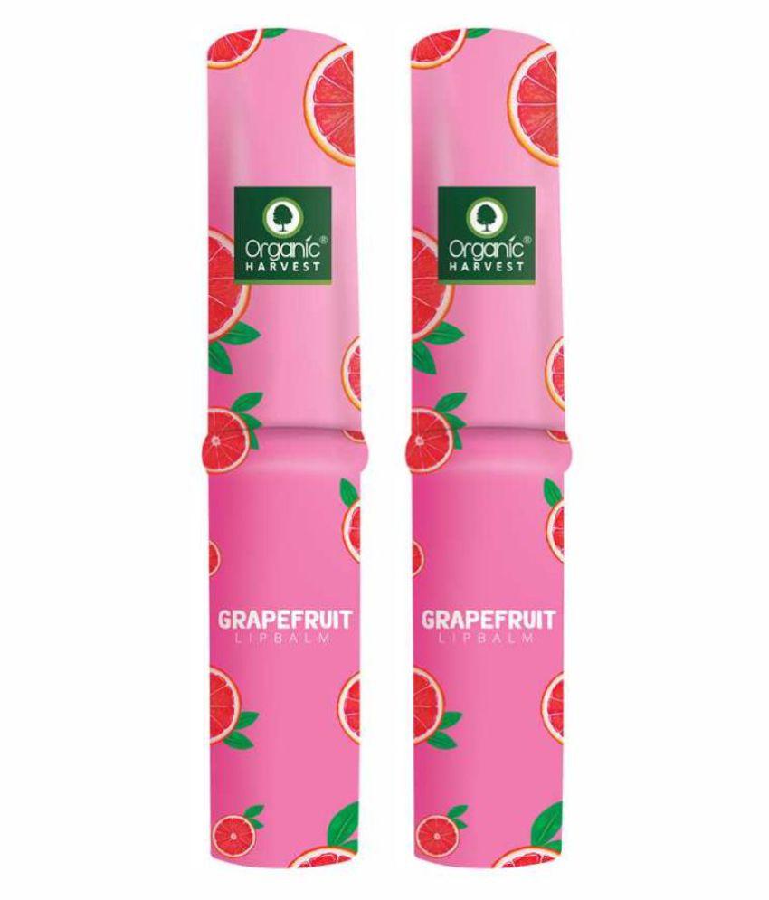 Organic Harvest (Pack of 2) Grapefruit - Lip Balm Pink 3