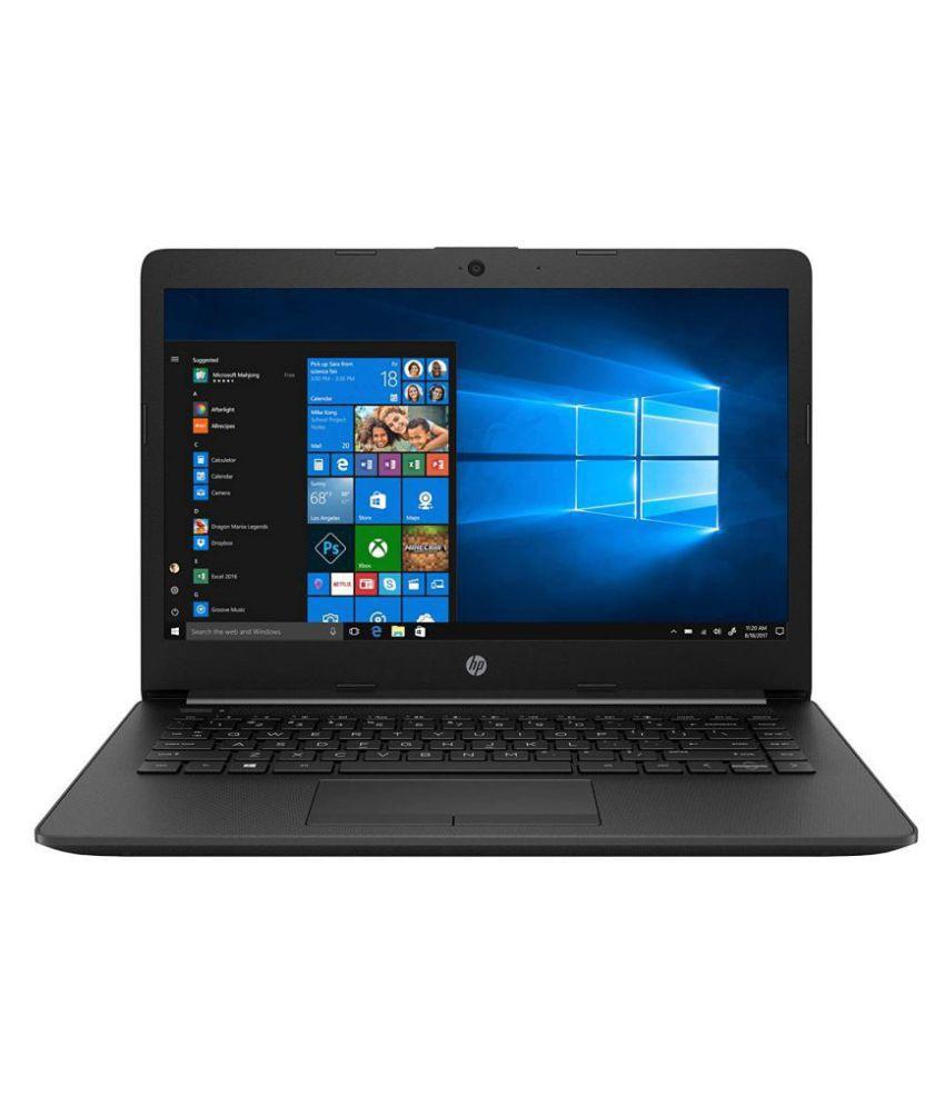 HP 14 10th Gen Intel Core i5 14 inch HD Laptop  i5 10210U/8 GB/512 GB SSD/Win 10/MS Office/Win 10/Jet Black/1.5 kg , 14 ck2018tu