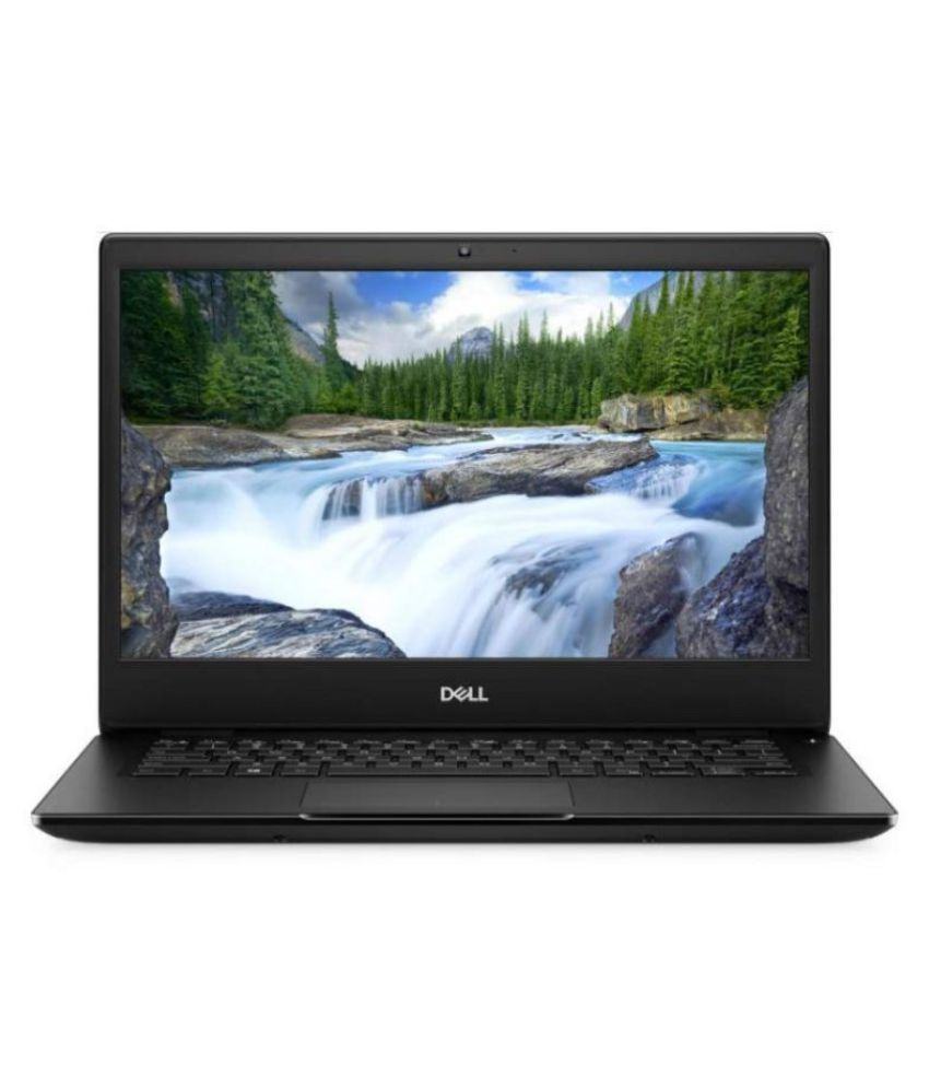 Dell Latitude 3400 14 inch Business Laptop  8th Gen Core i3 8145U/4 GB/1TB HDD/Ubuntu/Intel HD Graphics/Black