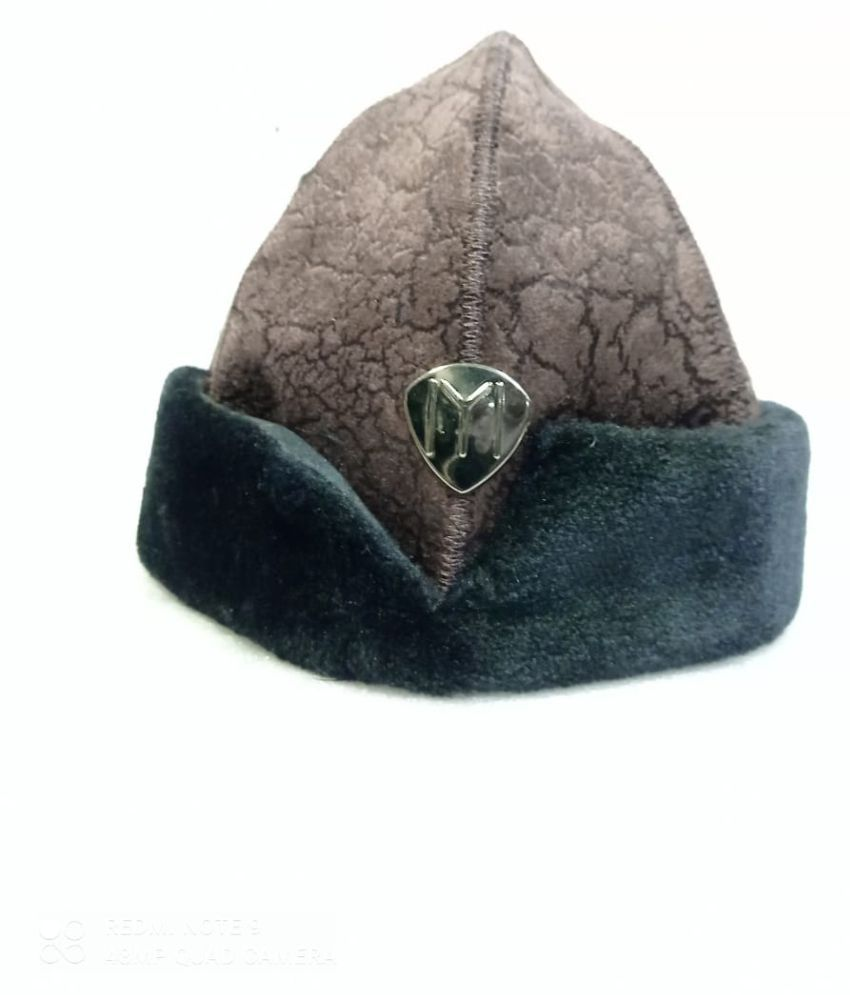 Ertugrul Ghazi Cap Brown Fabric