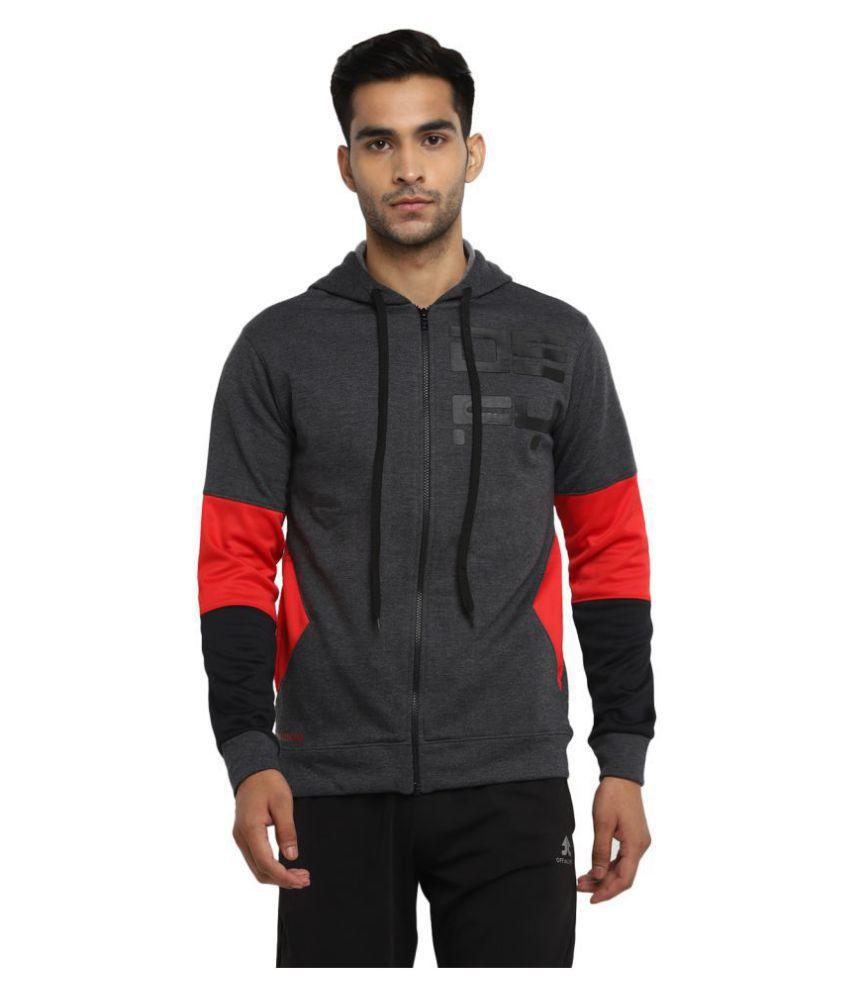 OFF LIMITS Dark Grey Polyester Jacket