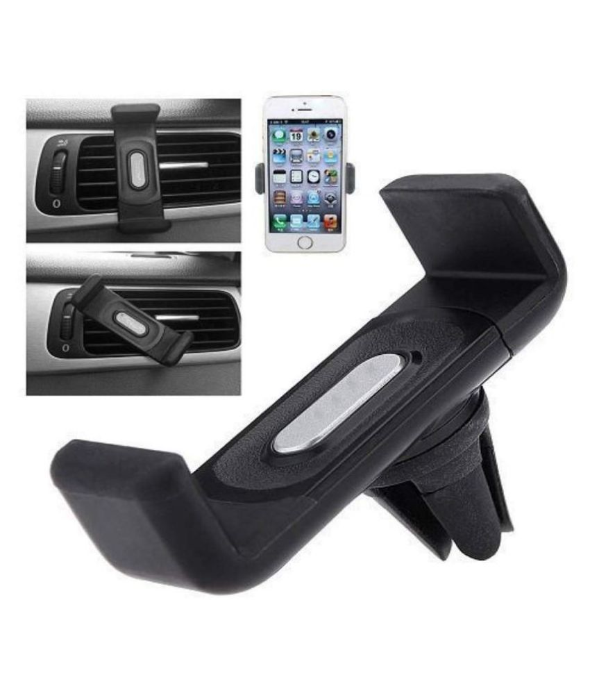 PD Car Mobile Holder Single Clamp for Air Vent - Black