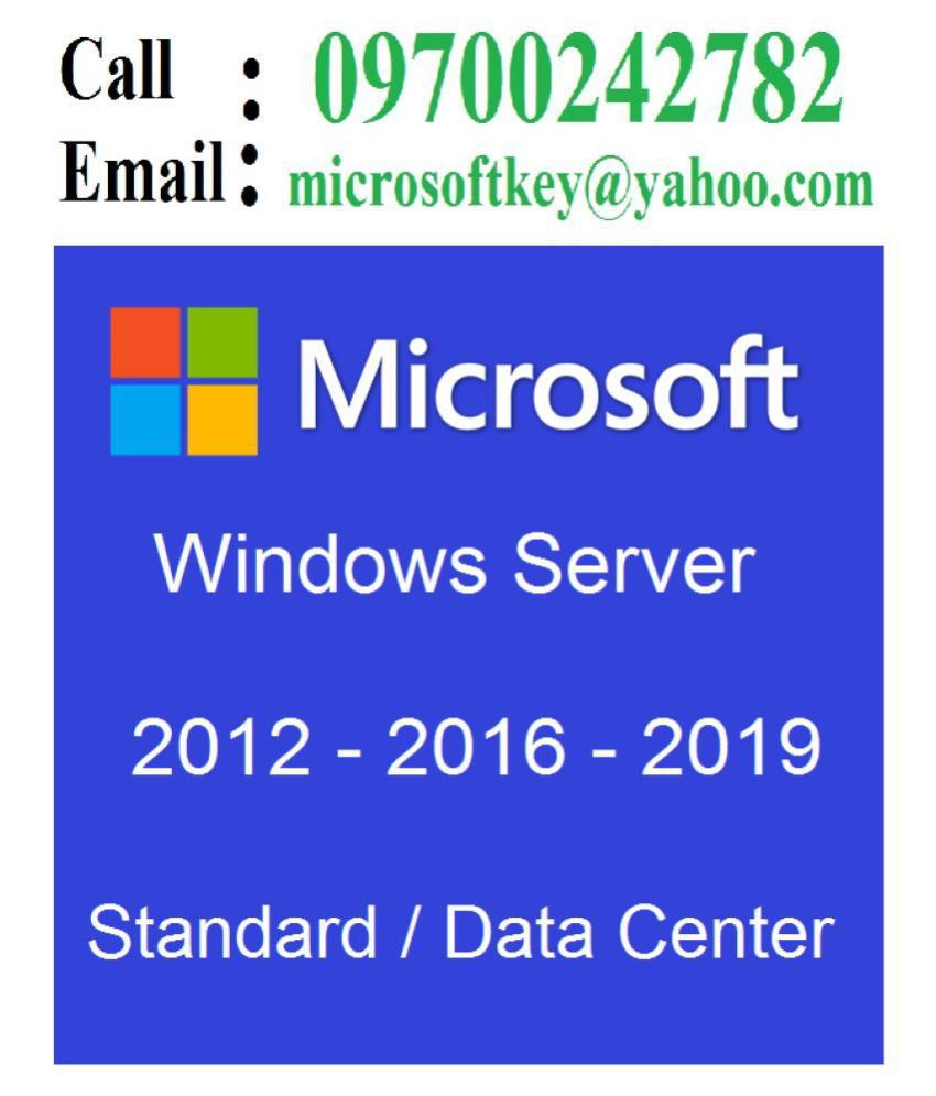 Buy Windows Server 2019 Standard 64-Bit