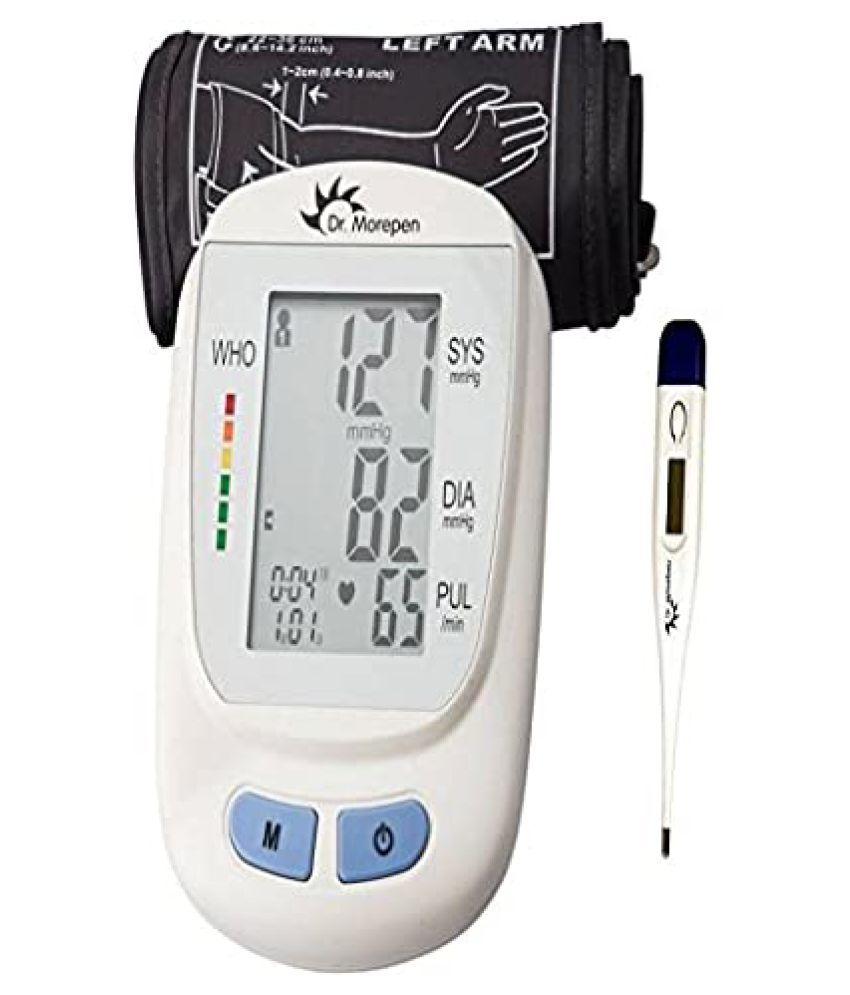 Tulsi Medicos BP-02 DR MOREPEN MONITOR + MT-100 DIGI THERMOMETER