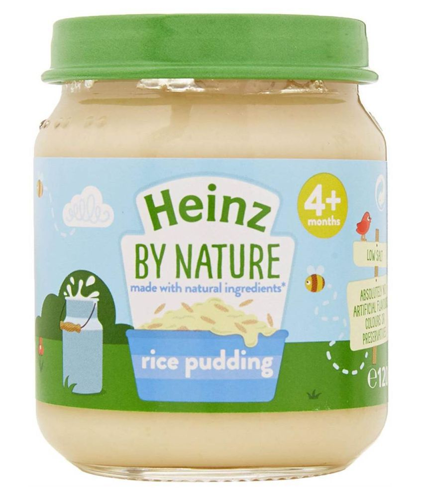 Heinz Rice Pudding Snack Foods for 6 Months + ( 0.9 gm )