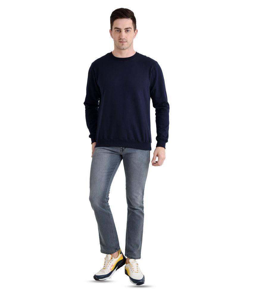 The Bonte Navy Sweatshirt