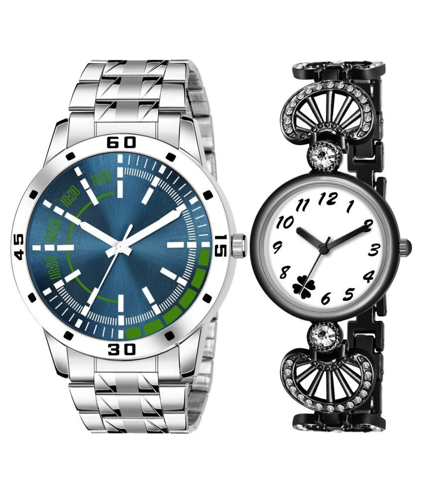 AMINO EXCLUSIVE COLLECTION (CASUAL+PARTY WEDDING) COUPLE QUARTZ ANALOG WATCH