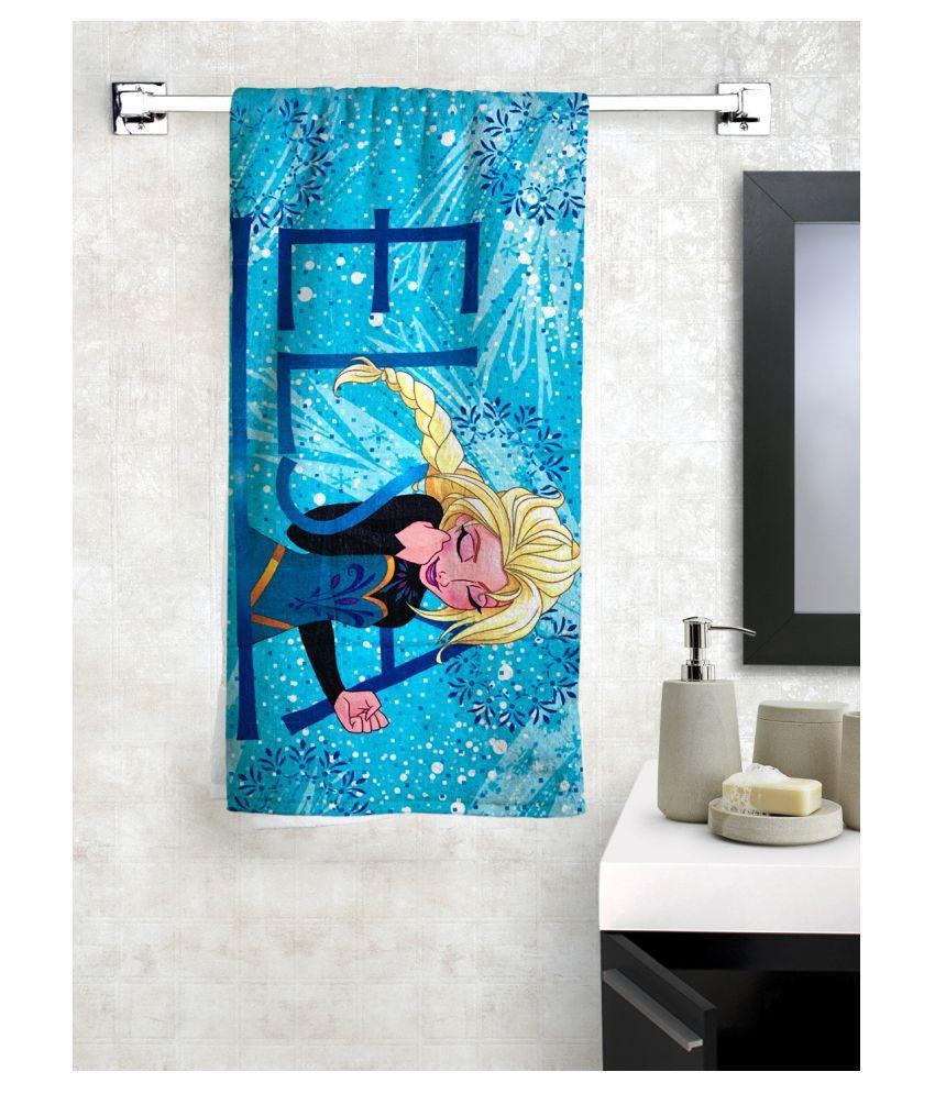 Disney Single Cotton Bath Towel Blue