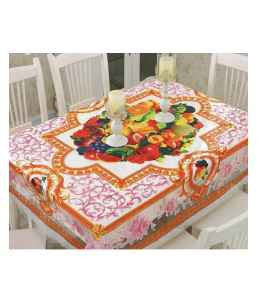 MAYA BIBI MADUR MAHAL 4 Seater PVC Single Table Covers