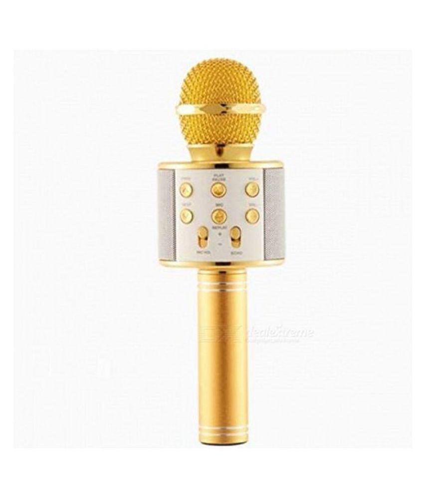 toy bazar MRT Portable Singing Bluetooth KTV Wireless Microphone