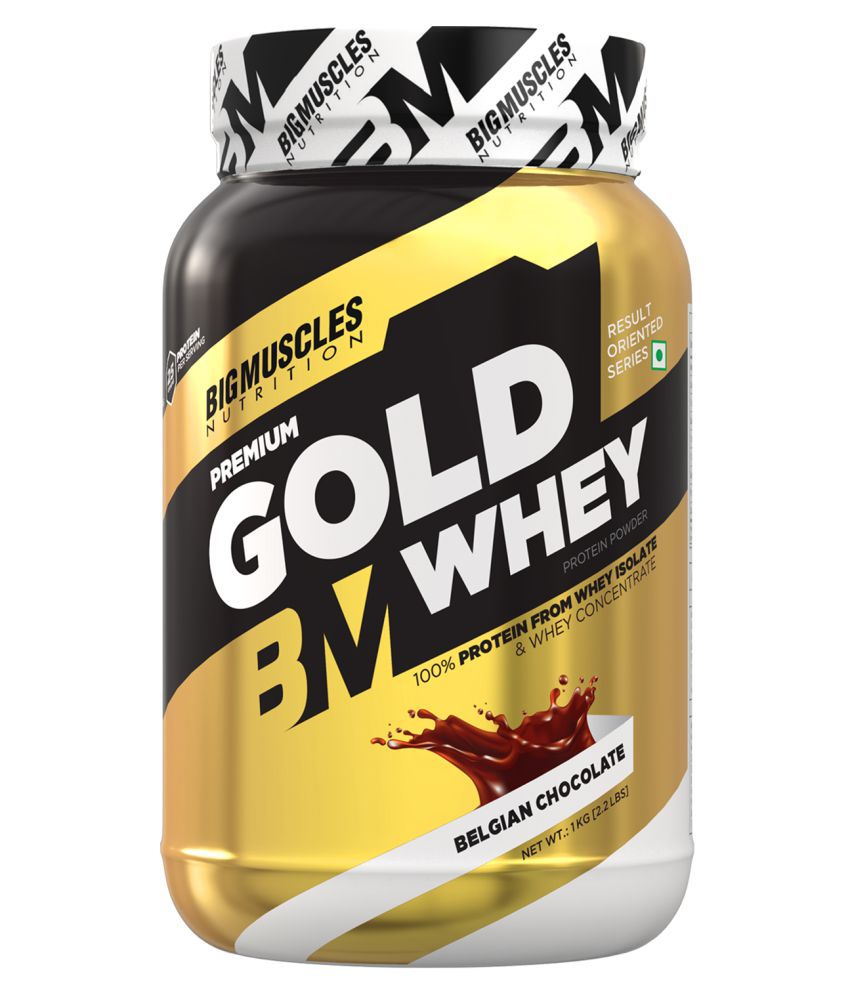 BIGMUSCLES NUTRITION Premium Gold Whey Belgian Chocolate 1 kg