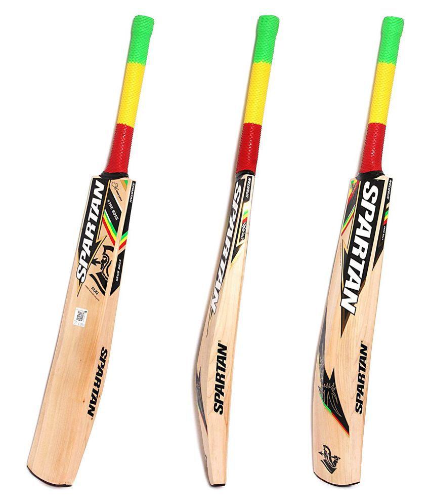 CHRIS GAYLE CG RUN English Willow Cricket Bat   Size: Short Handle, Leather Ball