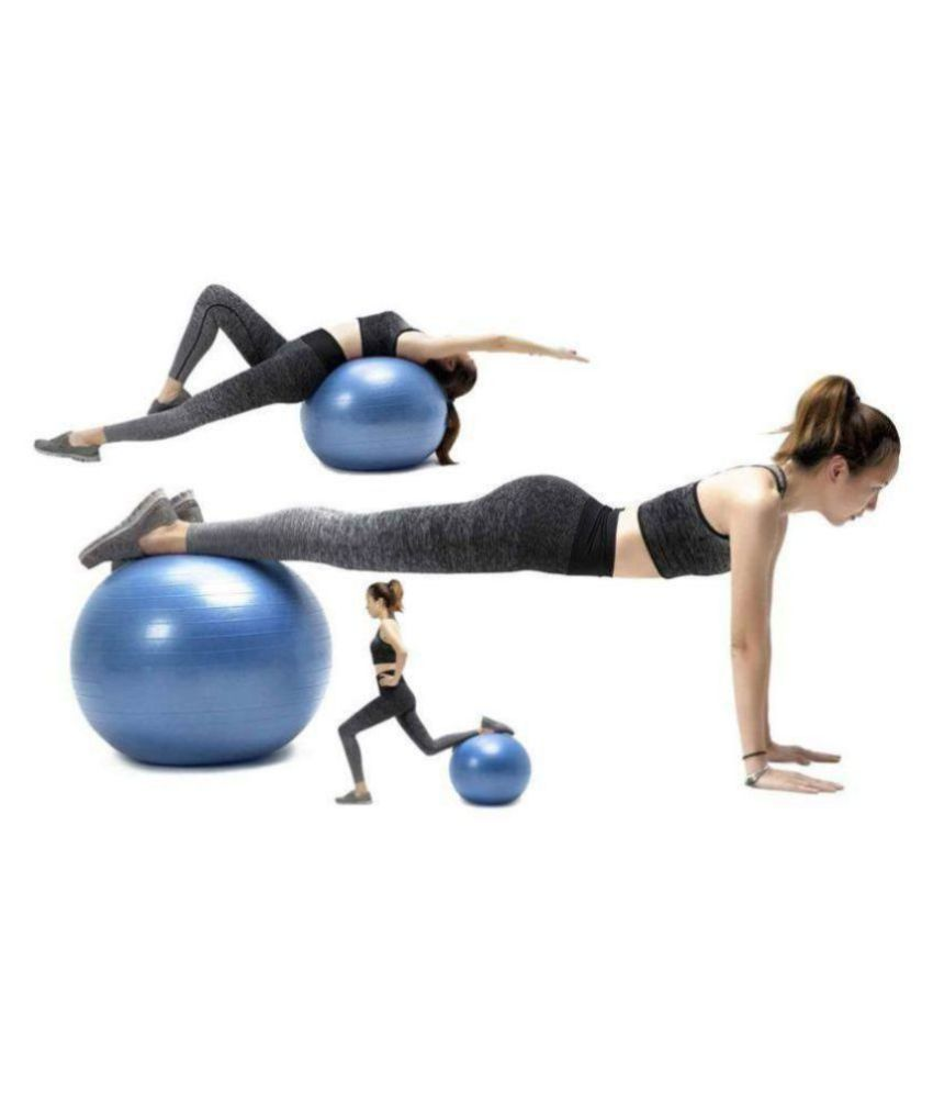 EIGHTEEN ENTERPRISE 75cm Gym Exercise Ball for Fitness, Stability, Gym, Balance & Yoga, Yoga Ball Chair, Balance Ball-with Pump