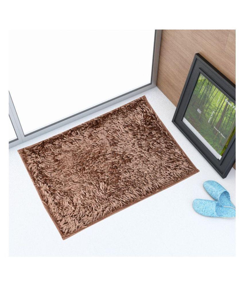 Sheen Decor Brown Single Anti-skid Floor Mat