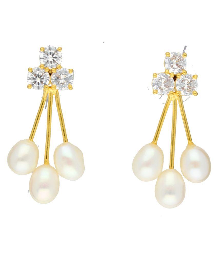 Stylish Strawberry Drop Earrings By KNK Jewellery