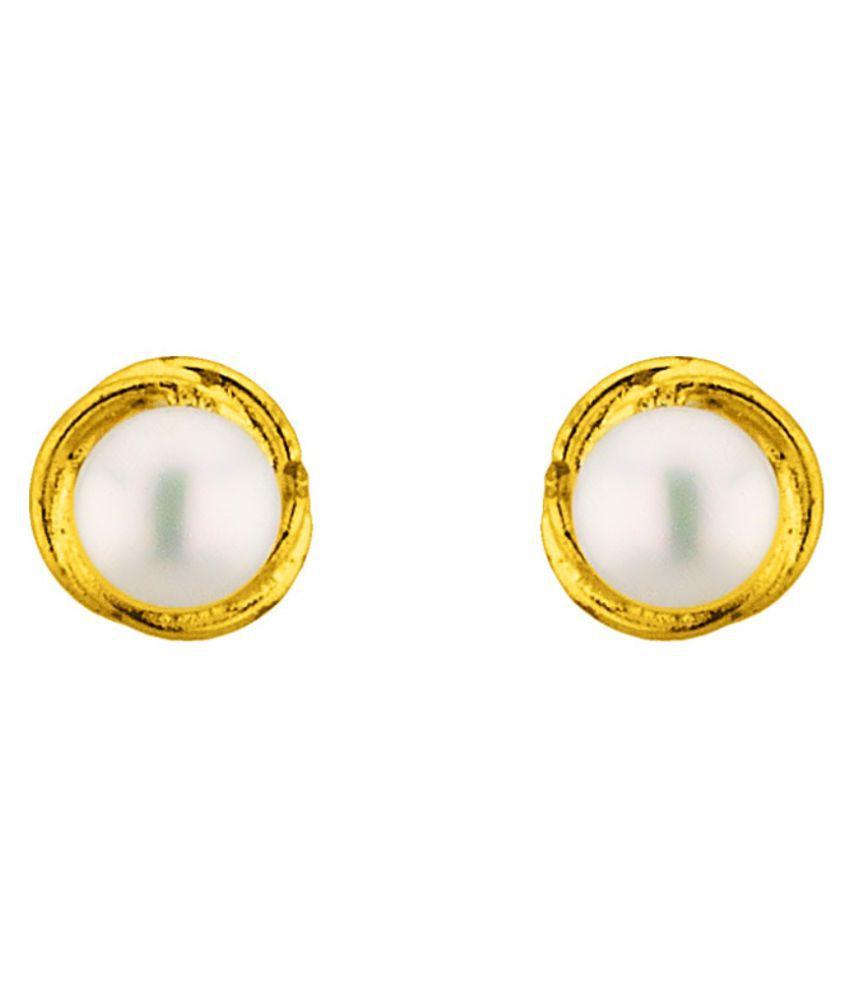Stylish & Trendy Jalebi Freshwater Pearl Earrings By KNK Jewellery