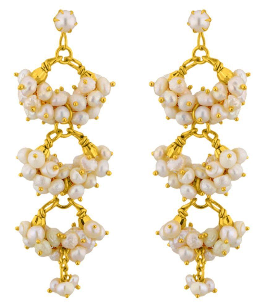 Stylish & Trendy Triple Hangings By KNK Jewellery